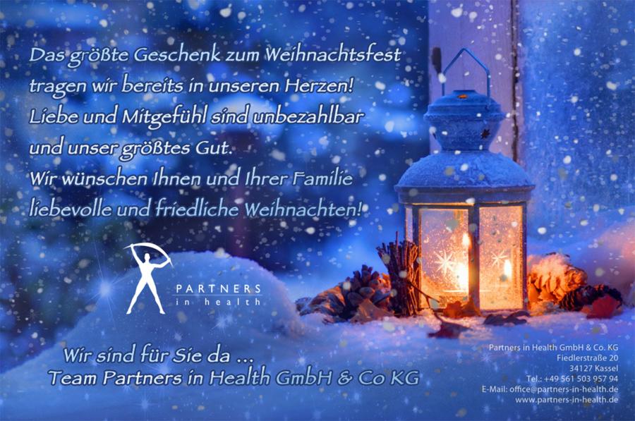 Definition Weihnachten.Weihnachten 2017 Partners In Health Gmbh Co Kg Luxxamed